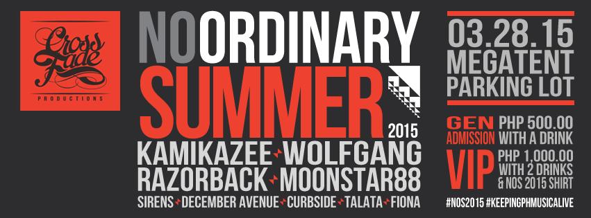 No Ordinary Summer 2015