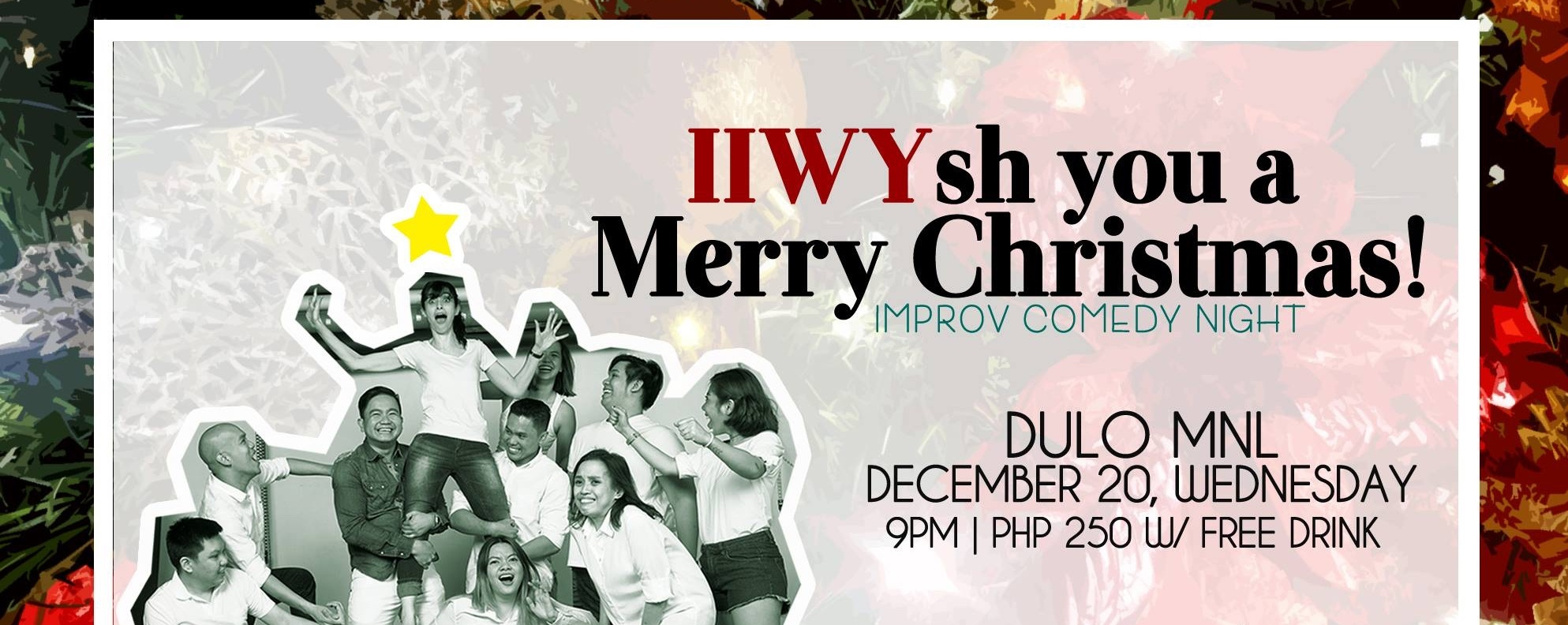 IIWYsh You A Merry Christmas!