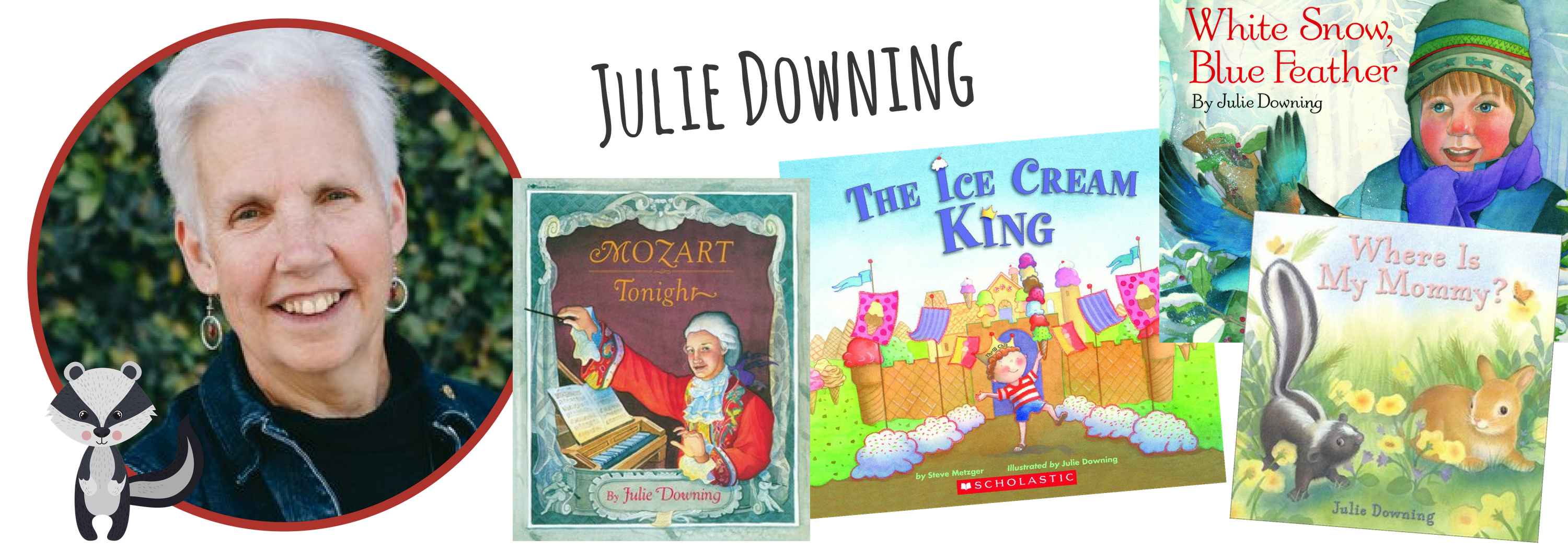Julie Downing for Children's Book Academy