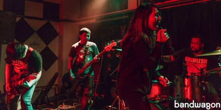 Irrevocable exude riveting stage presence at their first show in Singapore - photo gallery