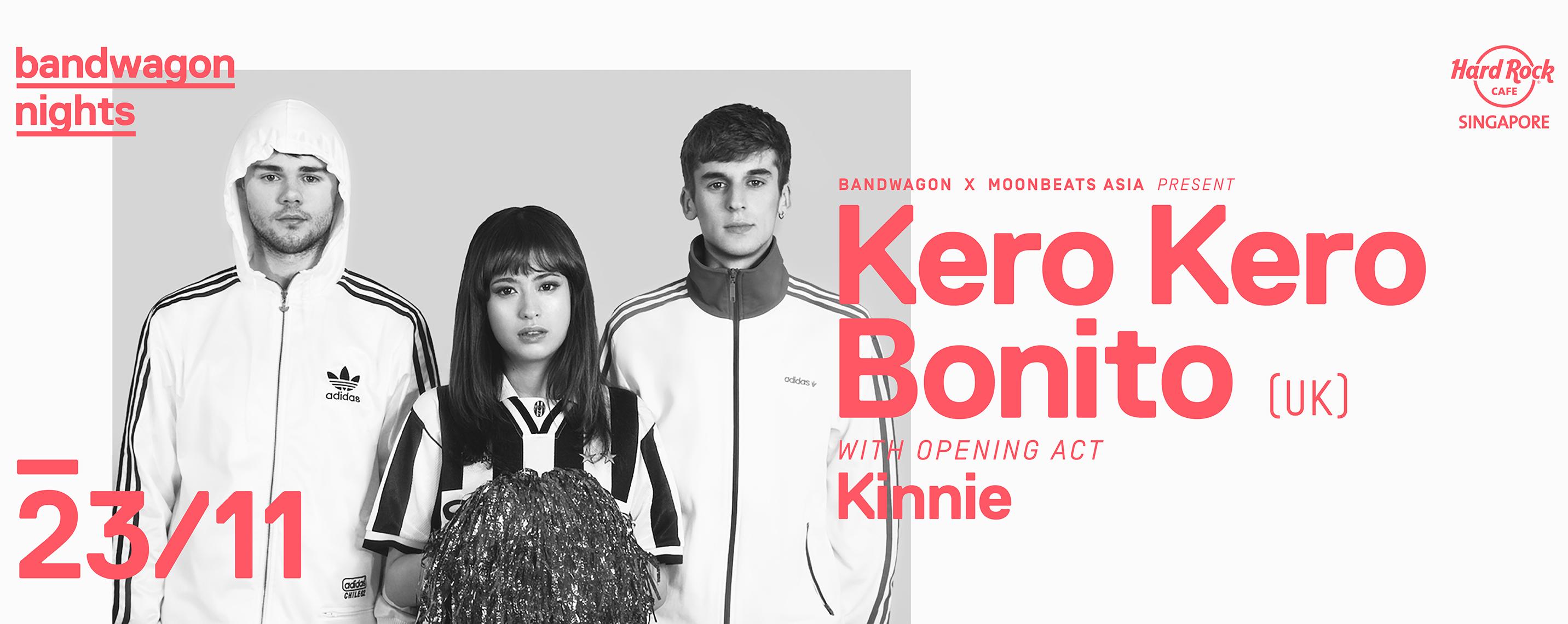 Bandwagon x Moonbeats Asia Present: Kero Kero Bonito w/ Kinnie