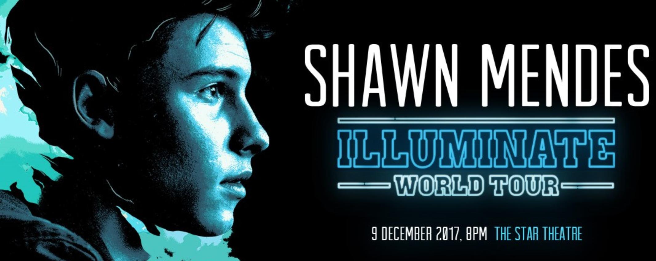 Shawn Mendes - Illuminate World Tour 2017 Singapore