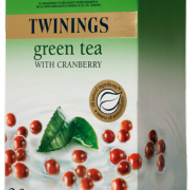 Green Tea with Cranberry from Twinings