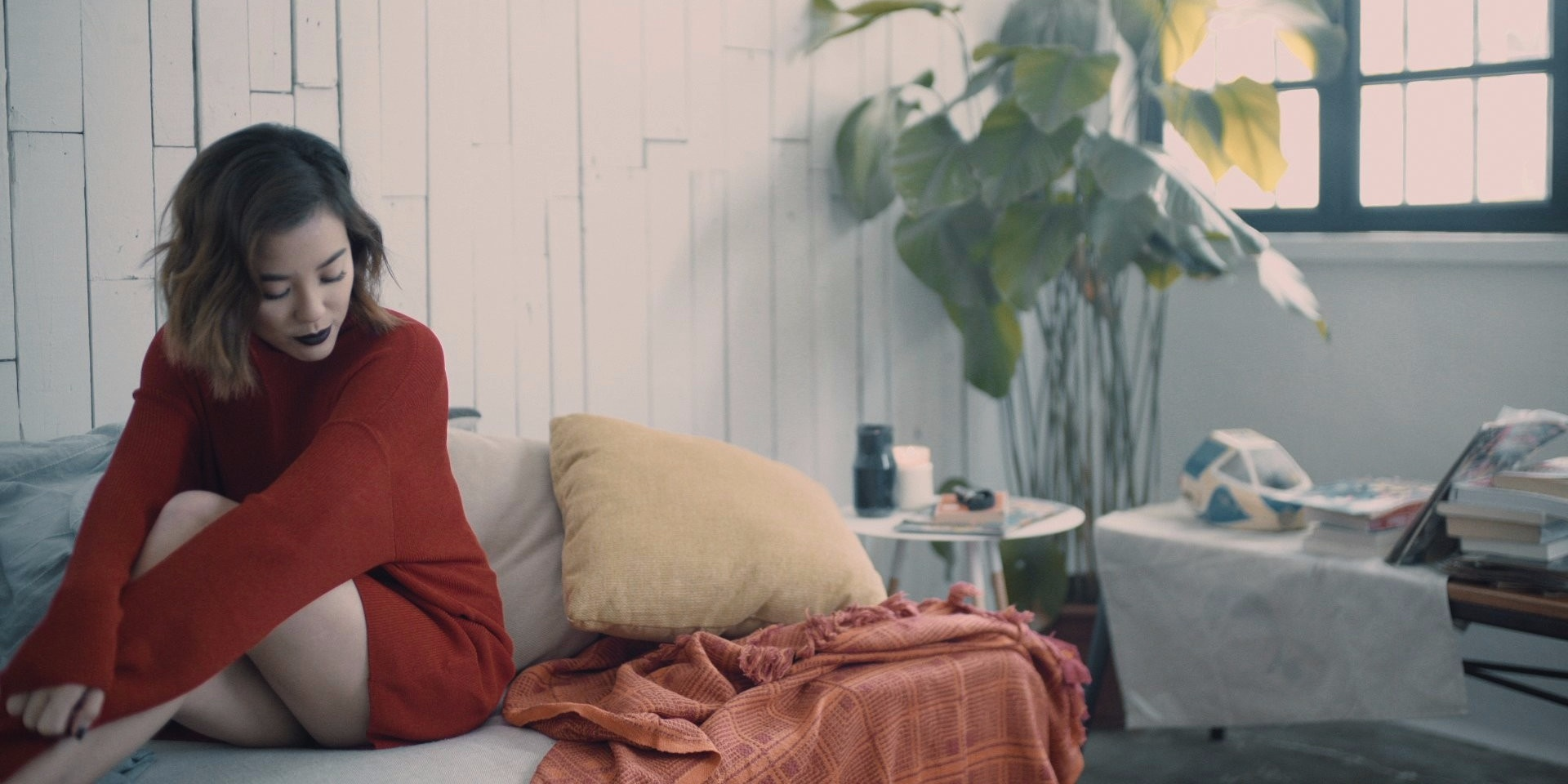 WATCH: Maricelle unveils the intimate music video for her fragile debut single 'Lovedrunk'