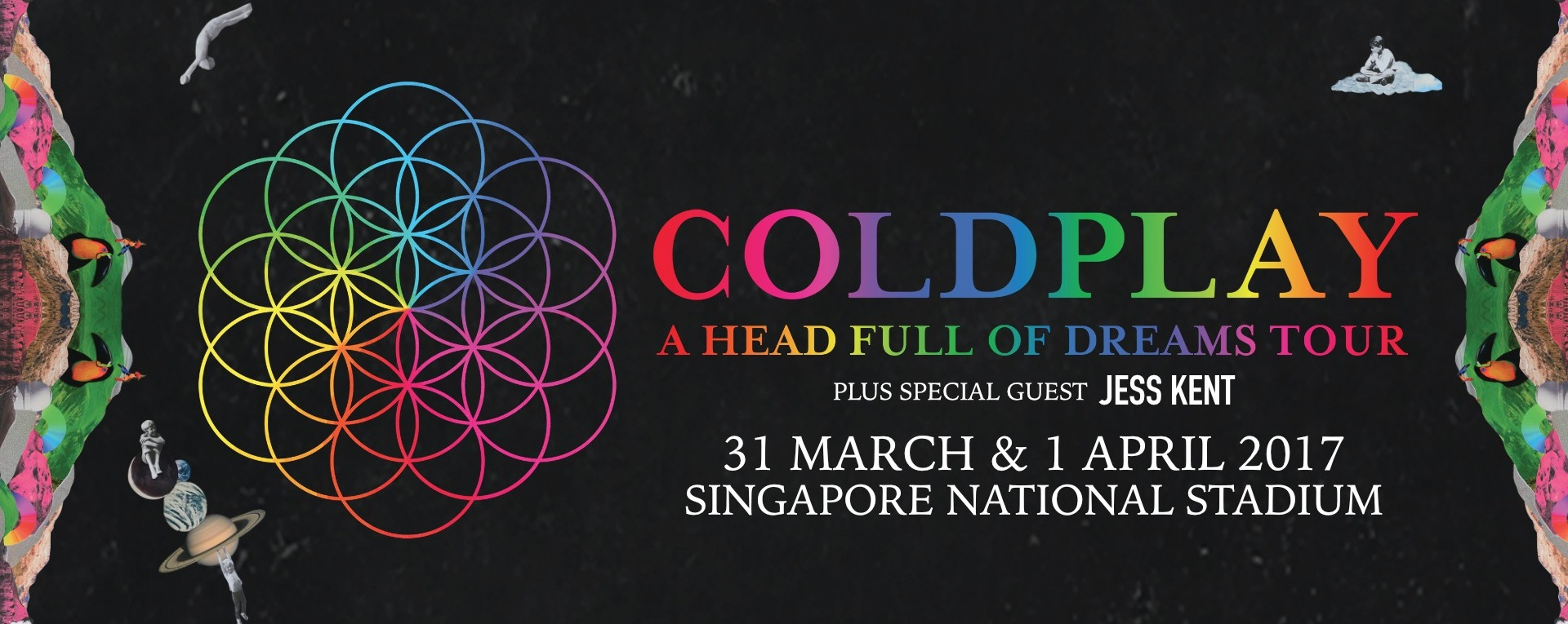 Coldplay - A Head Full of Dreams Tour (Singapore)