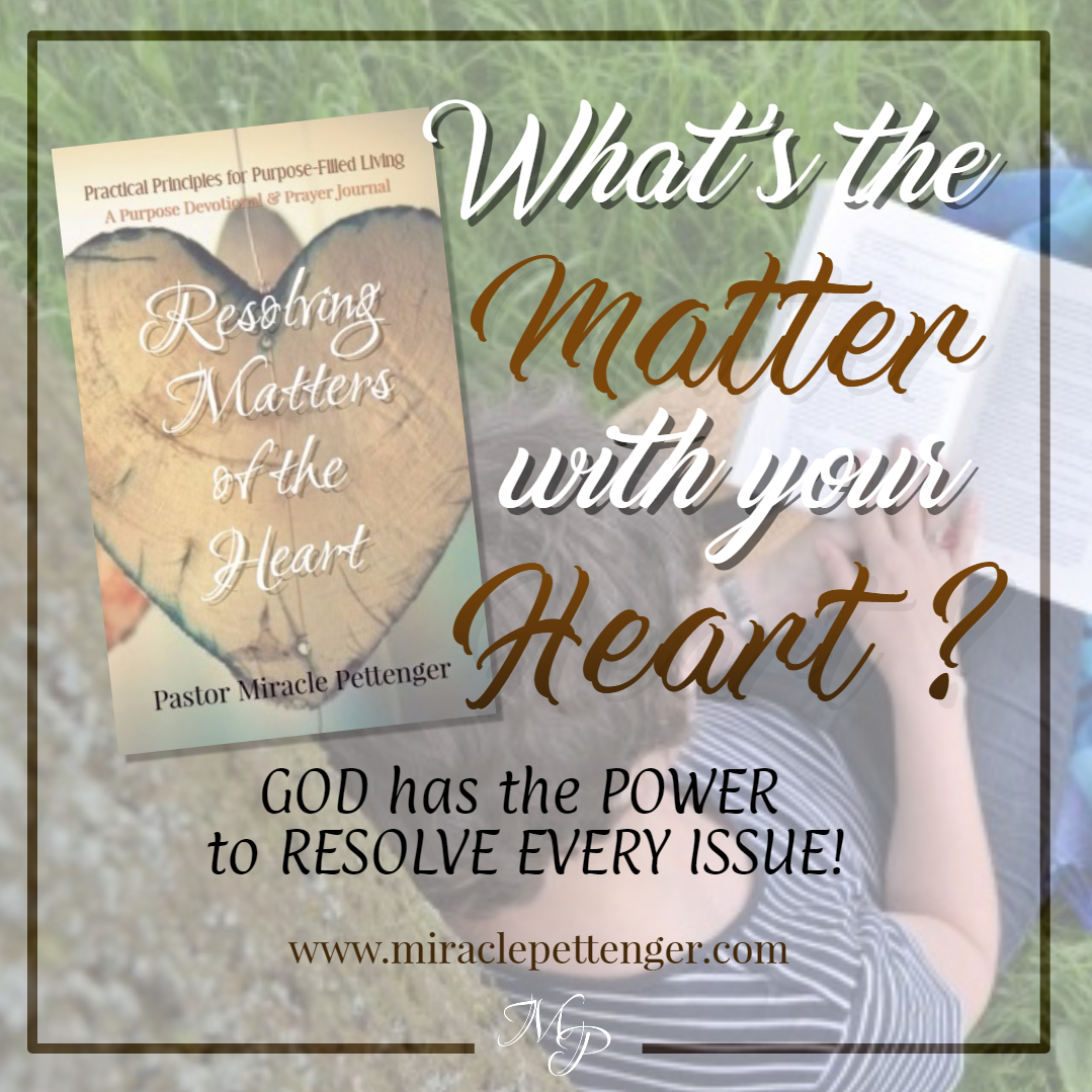 Resolving Matters of the Heart - BUY NOW