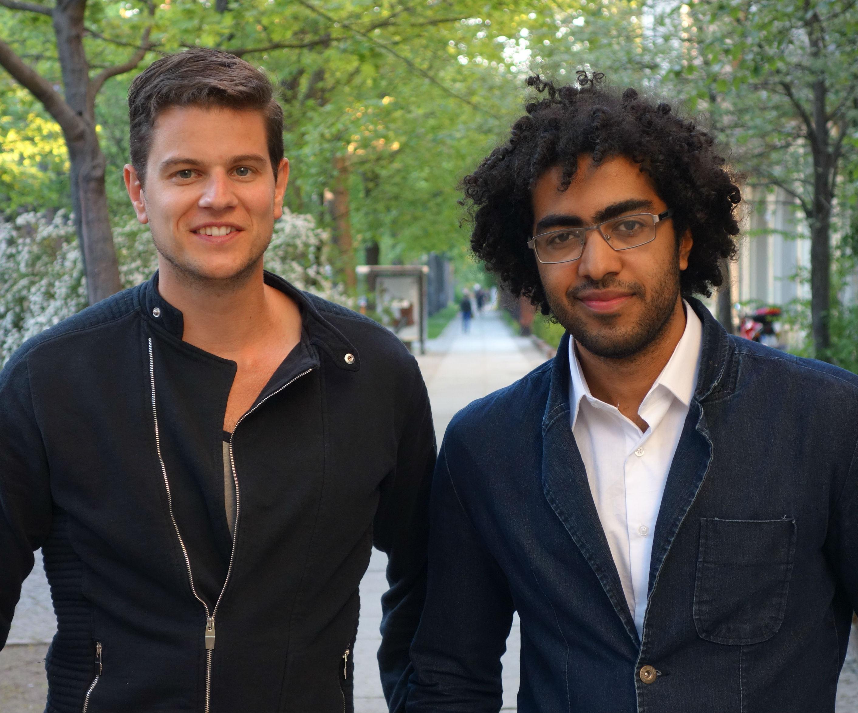 Lucas Bighetti and Jan van der Aa