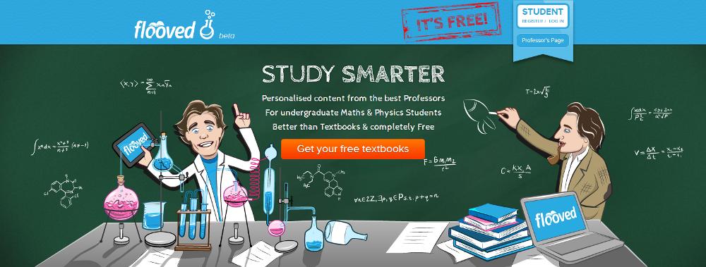 Flooved homepage screenshot