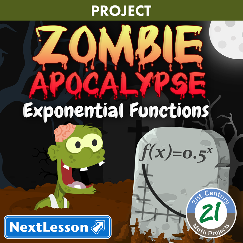 Zombie Apocalypse -- Exponential Function STEM Project & Safety Plan ...