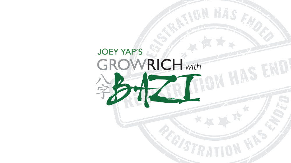 Joey Yap's Grow Rich with Bazi | Joey Yap Private Limited