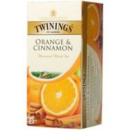 Black Tea flavoured with Orange & Cinnamon from Twinings