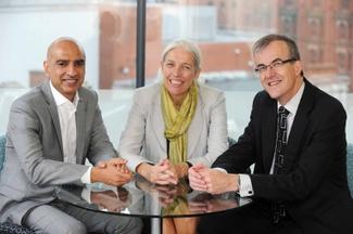 New ART Board Members Monder Ram, Beverley Nielsen and David Hardman