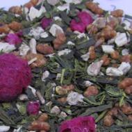Raspberry Marshmallow Treat Genmaicha from 52teas