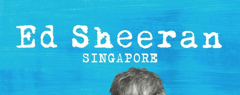 Ed Sheeran live in Singapore