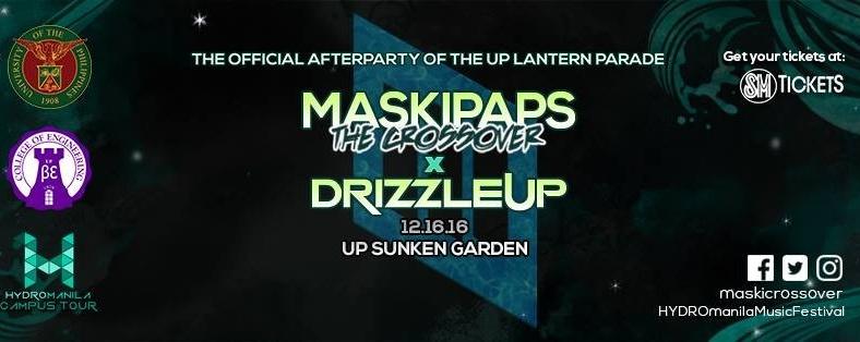 Maskipaps x Drizzle UP Diliman (Hydro Manila Campus Tour)