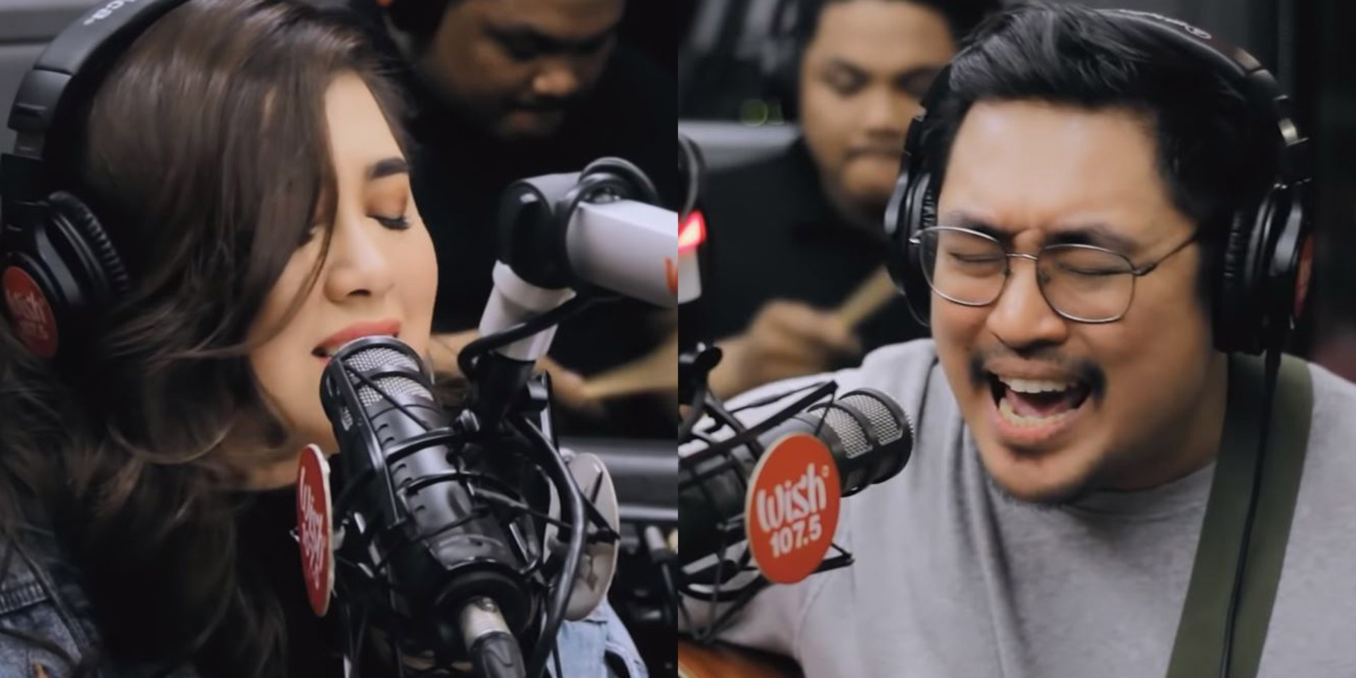 December Avenue & Moira Dela Torre perform 'Kung 'Di Rin Lang Ikaw' live on Wish 107.5 Bus – watch