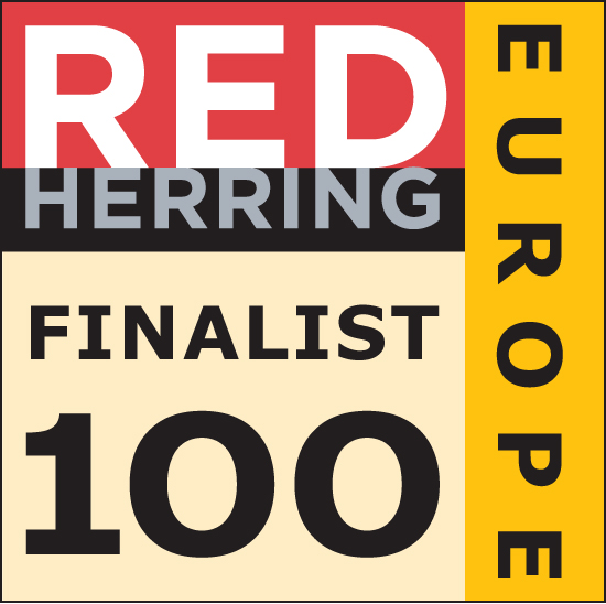 Red Herring Top 100 Europe Award Finalist Badge