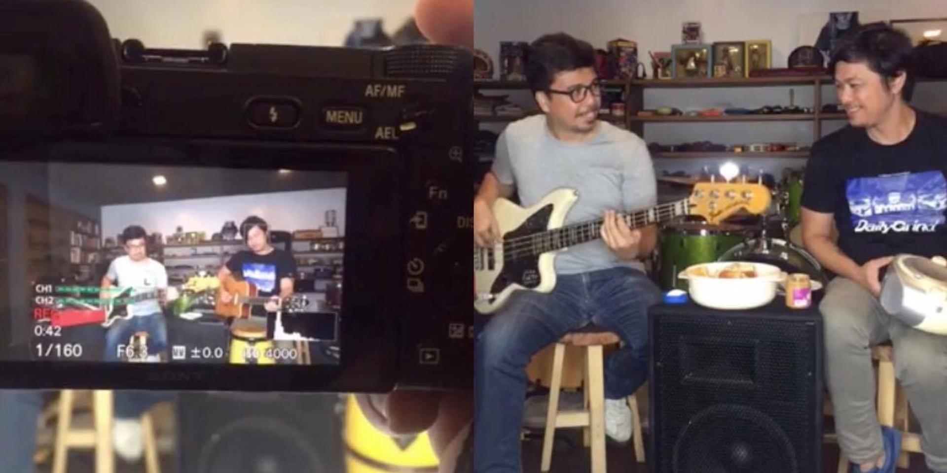 Raimund Marasigan talks to Buddy Zabala on Palaman, youpoundit's new talk show series