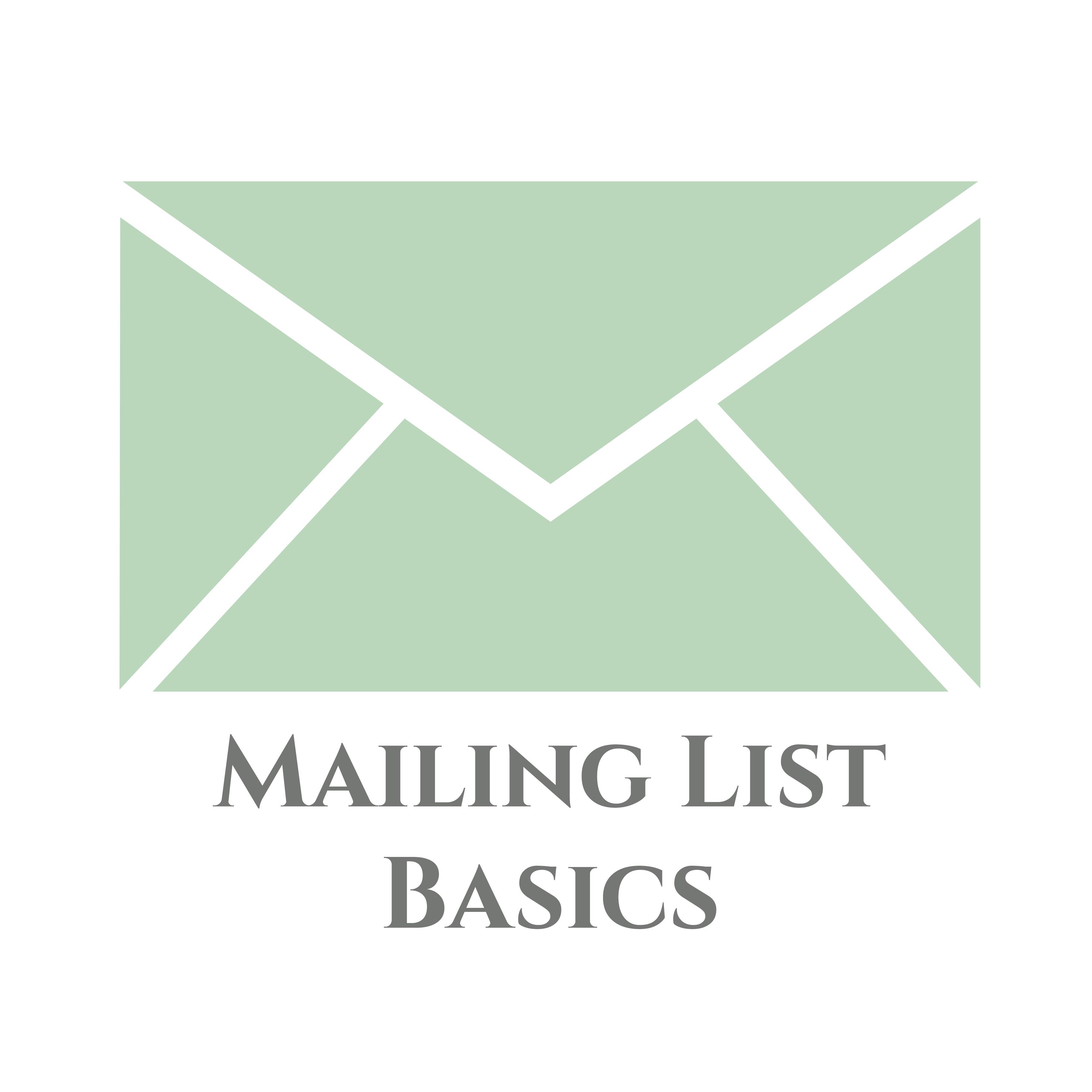 Mailing List Basics