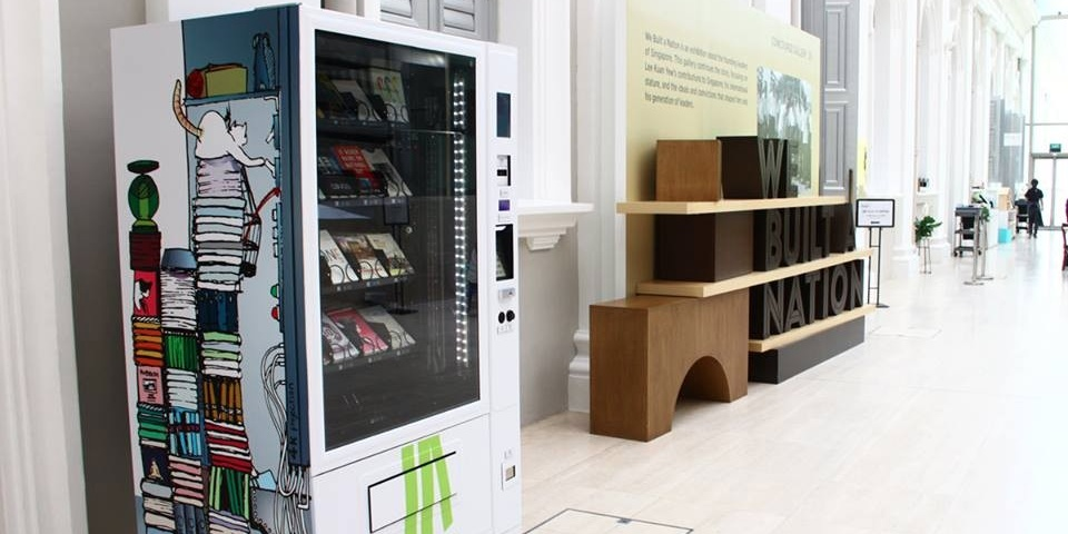 There's a book vending machine in Singapore — here's what else we'd like to see