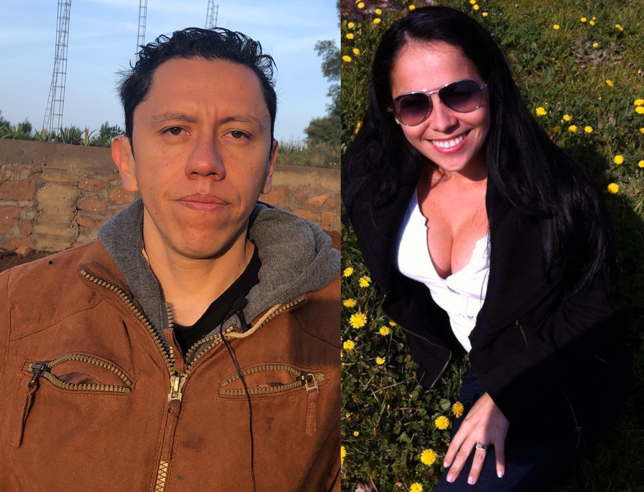 Úrsula Mendoza y Miguel García