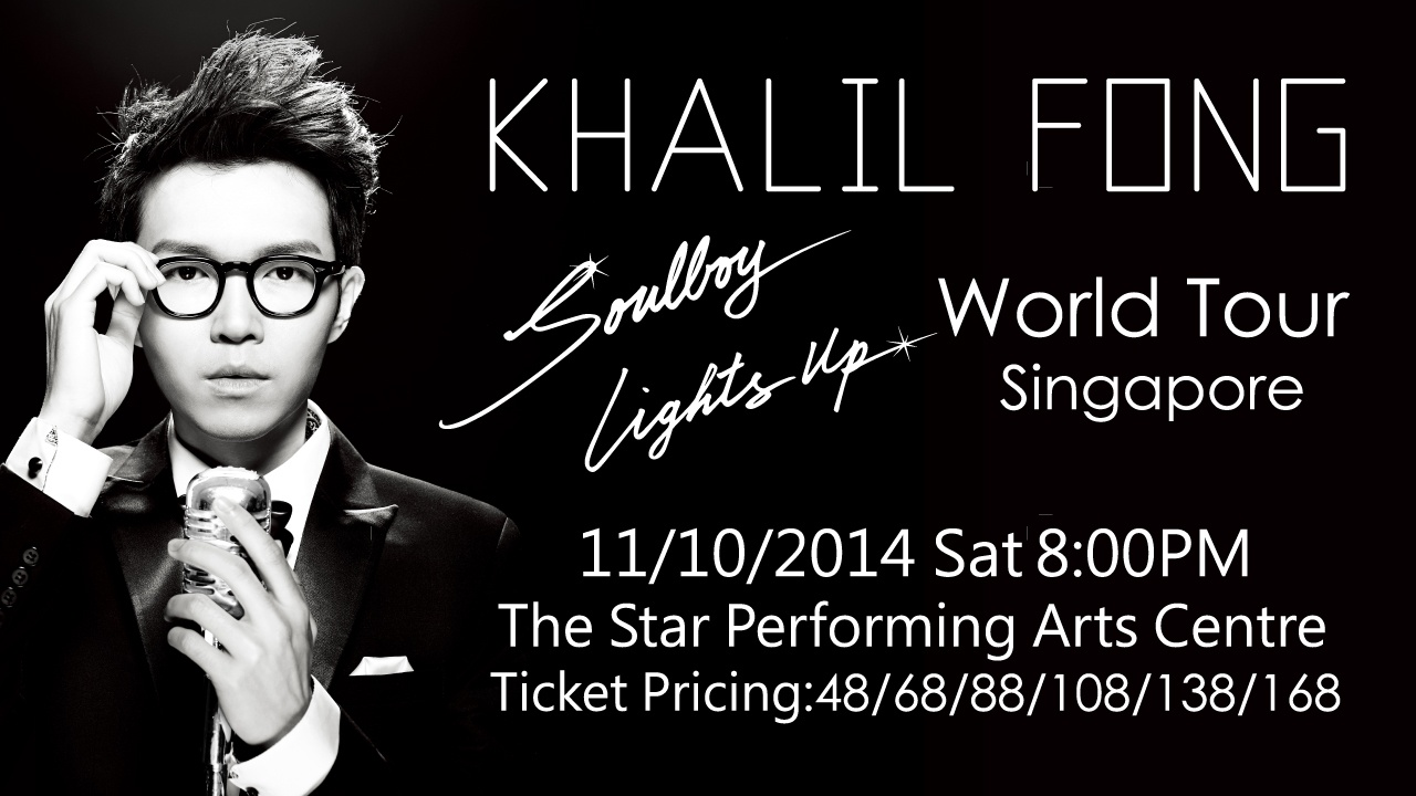Soulboy Lights Up: Khalil Fong Live In Singapore