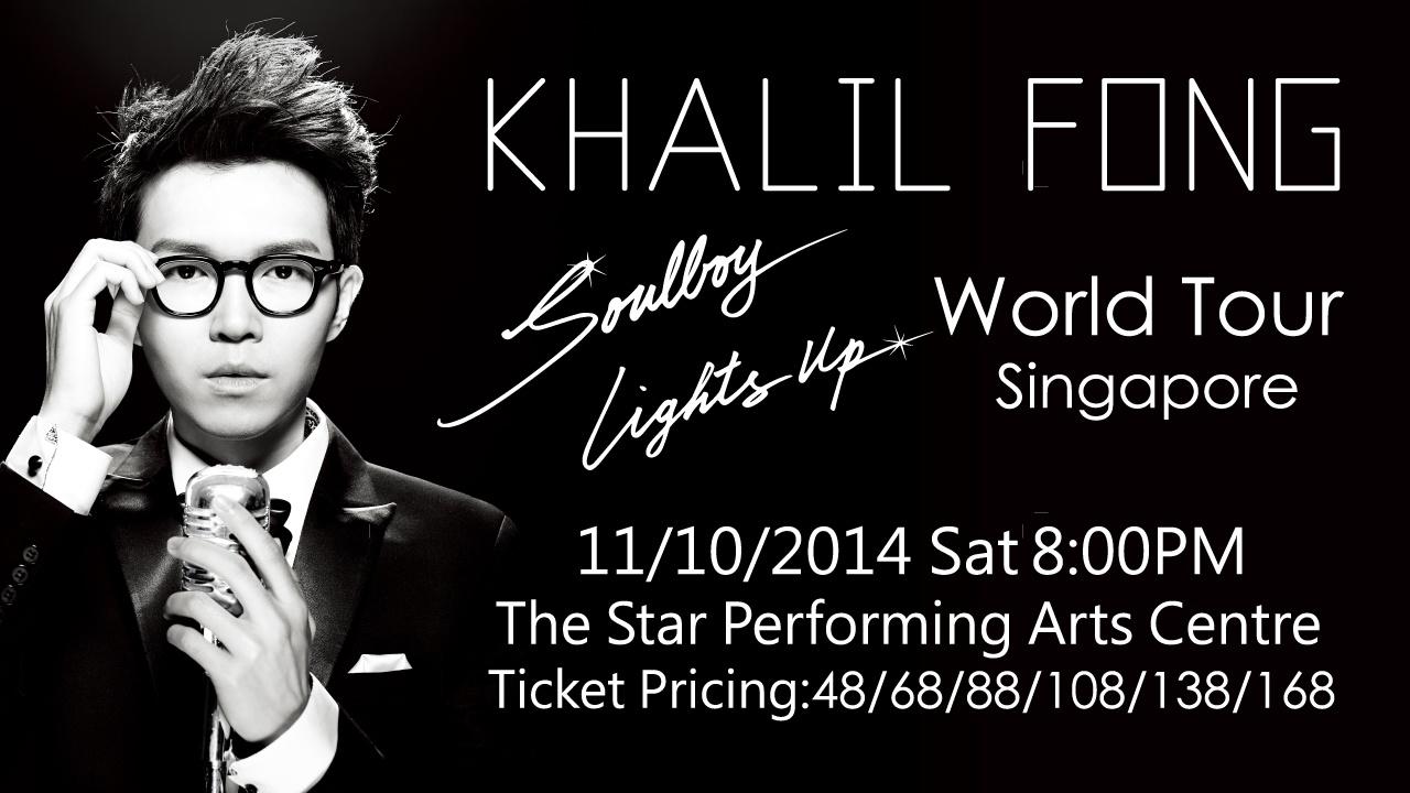 Soulboy Lights Up: Khalil Fong Live In Singapore