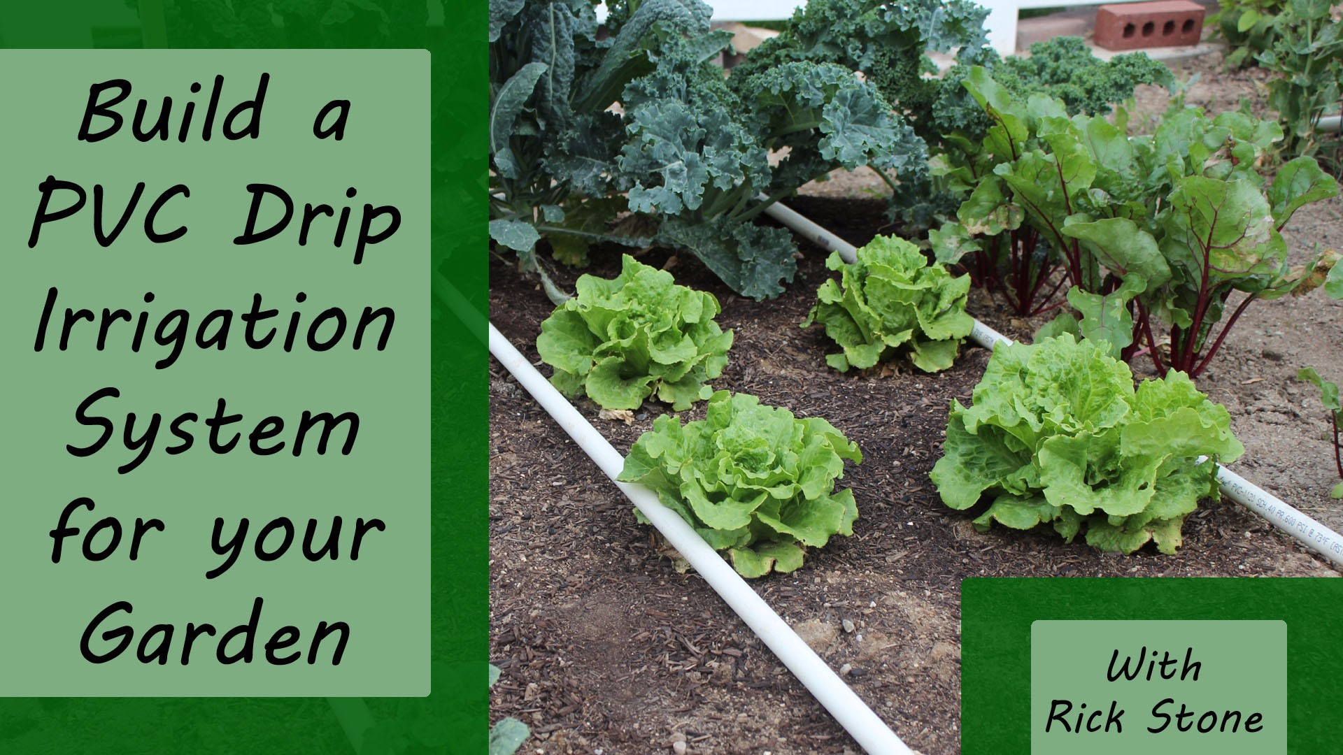 Build A Pvc Drip Irrigation System For Your Garden