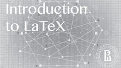 Introduction to LaTeX MOOC course logo
