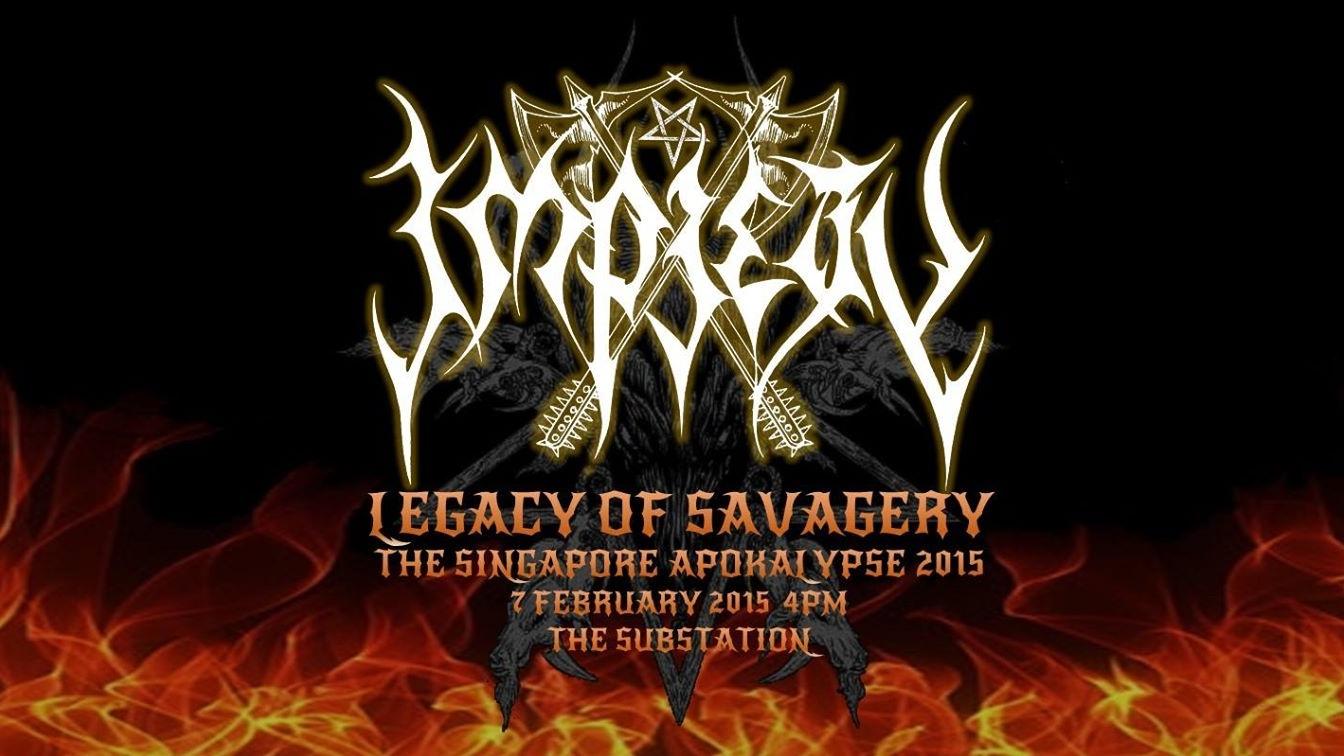 Impiety: Legacy Of Savagery The Singapore Apokalypse 2015
