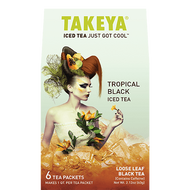 Tropical Black, iced tea. from Takeya Tea