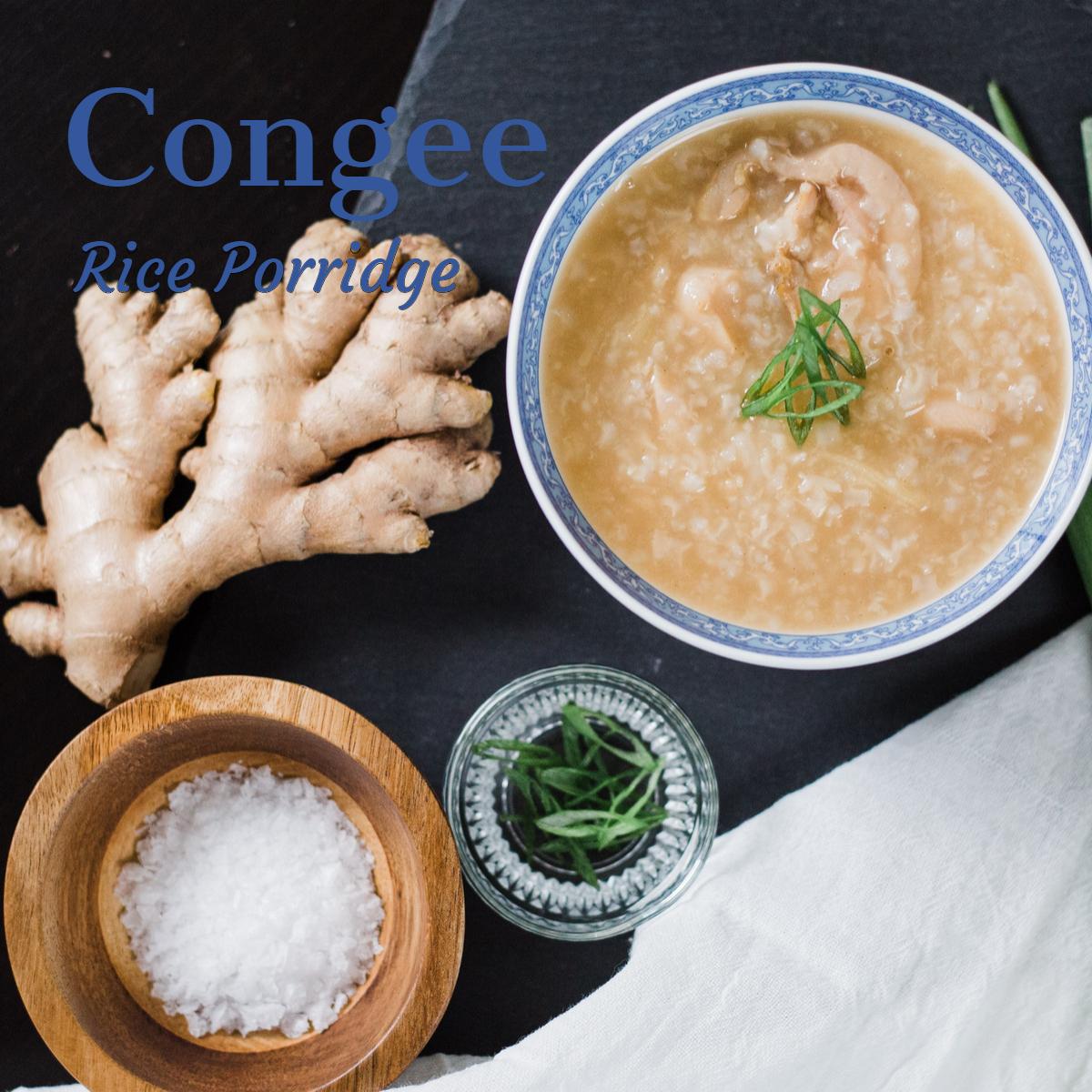 Rice congee a healing porridge