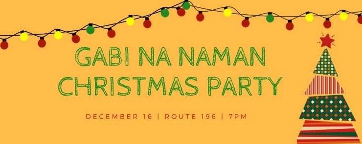 Gabi Na Naman Productions Christmas Party