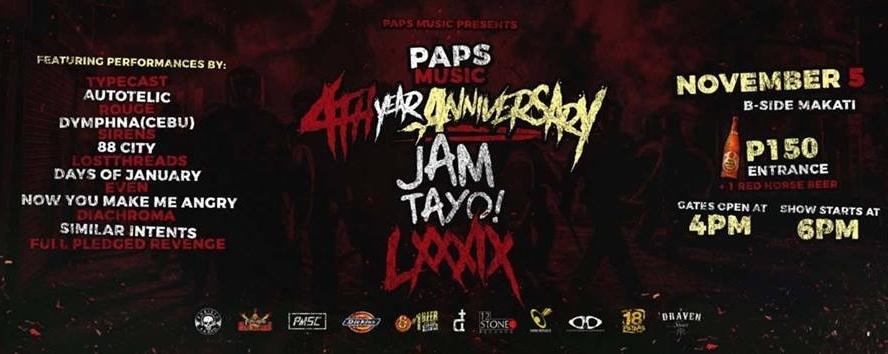 RJAM Tayo X Paps Music 4th Year Anniversary