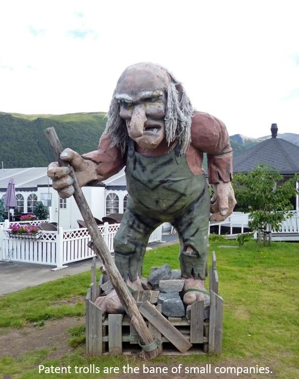Patent troll image