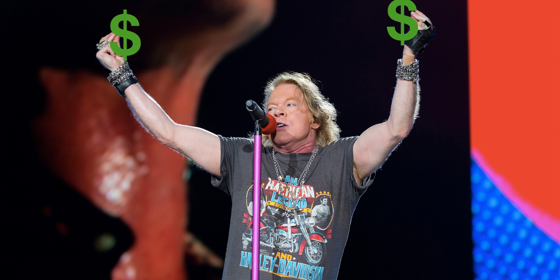 Guns N' Roses RFID refunds now available for collection