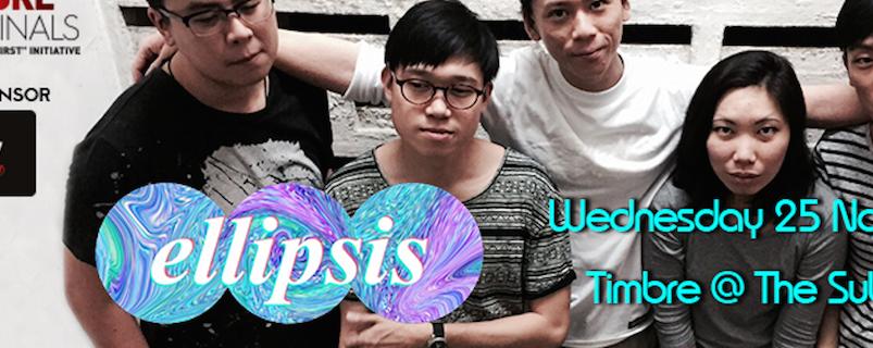 TIMBRE MUSIC X GUINNESS AMPLIFY PRESENT SINGAPORE ORIGINALS: ELLIPSIS