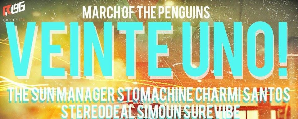 March Of The Penguins: VEINTE UNO!