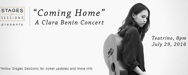 Coming Home: A Clara Benin Concert