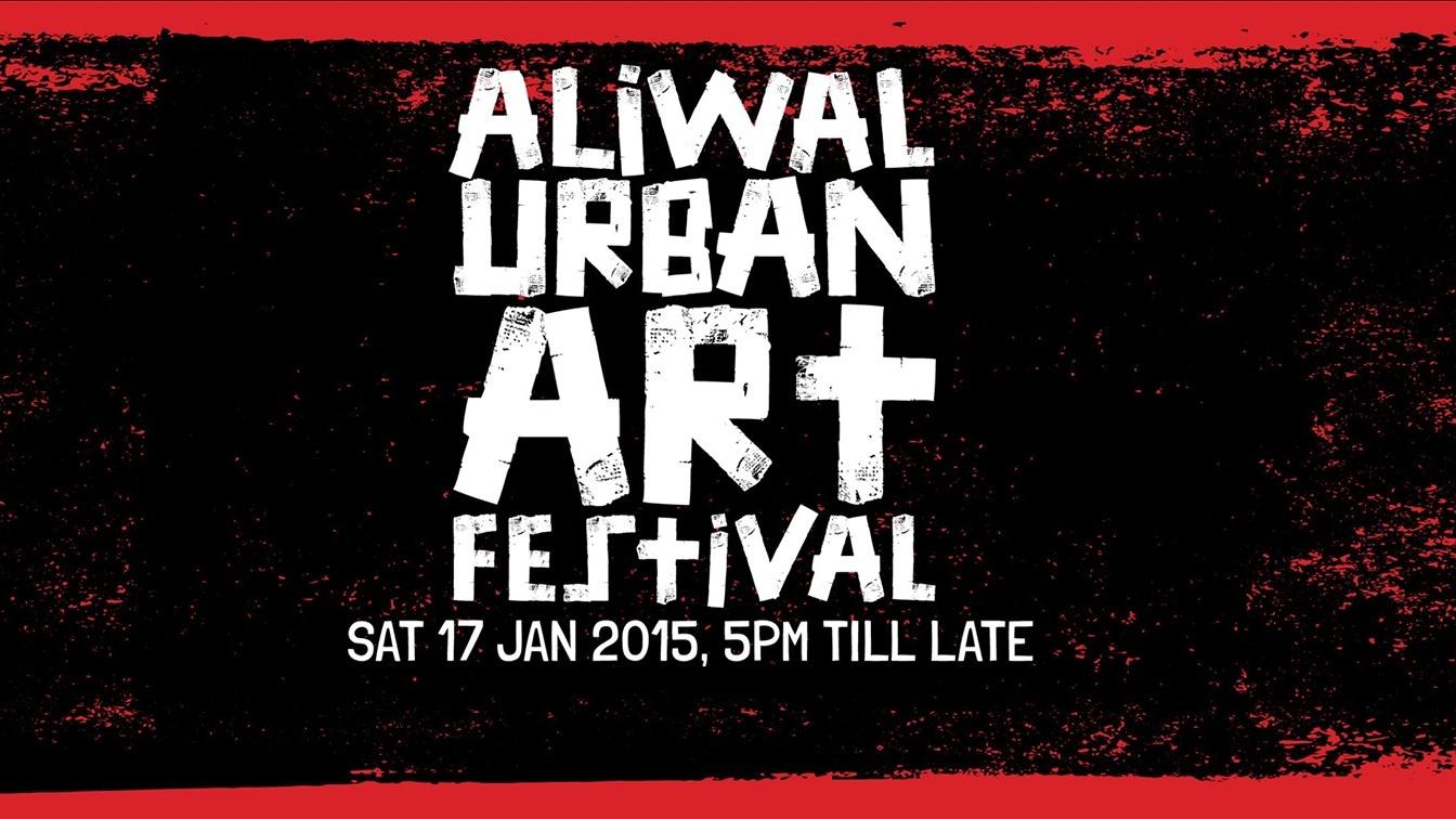 ALIWAL URBAN ART FESTIVAL 2015