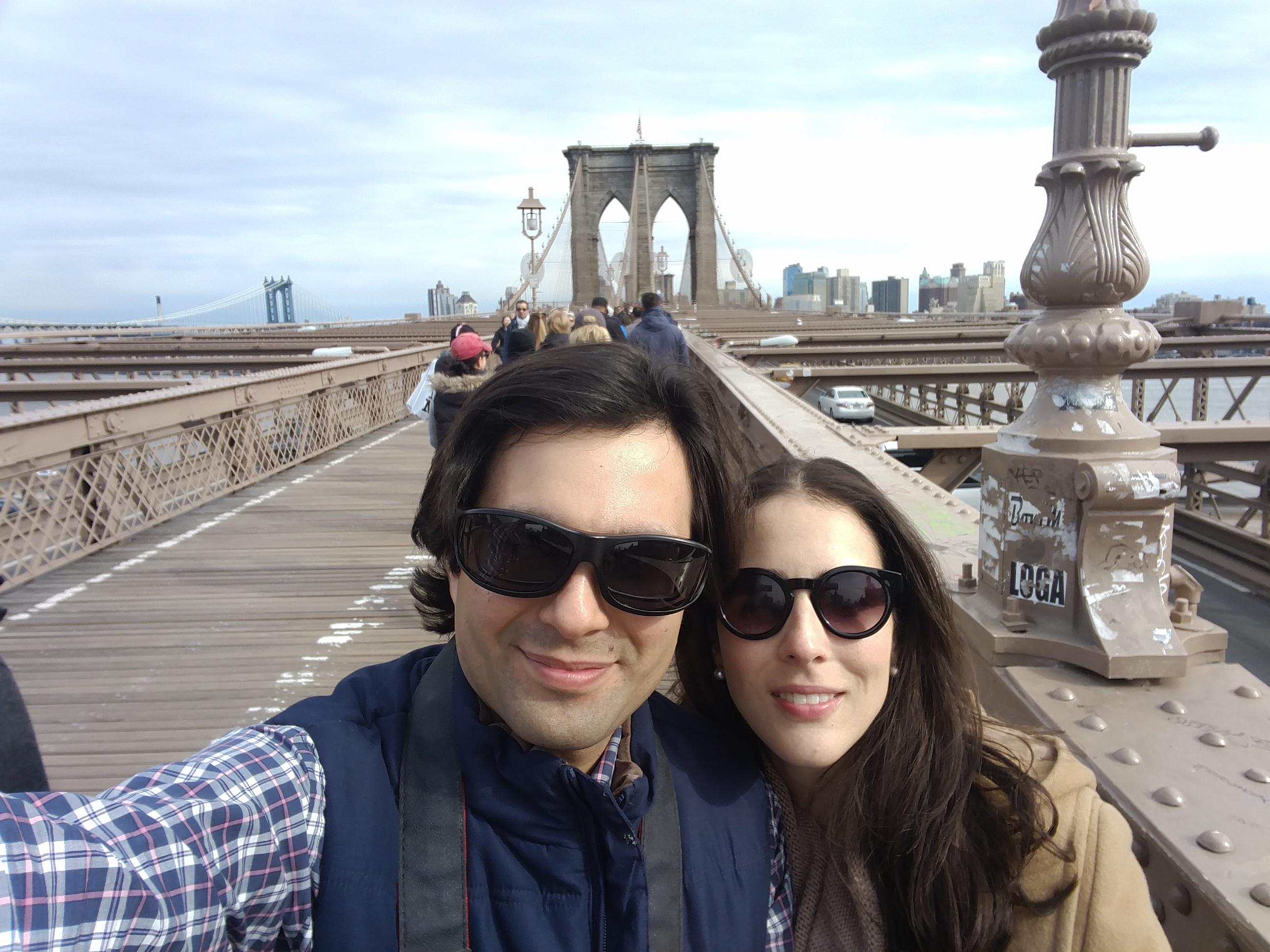 Daniel y Rebeca Herbruger