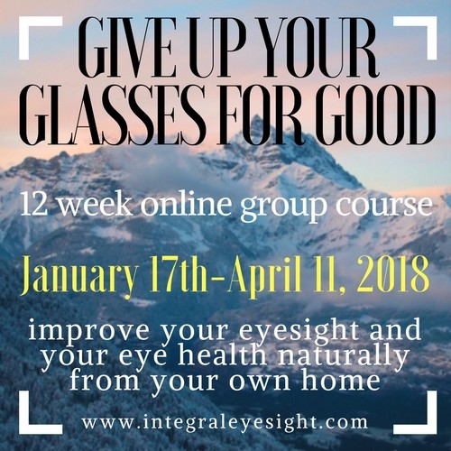 Give up your glasses for good holistic eye care center by combining written instructions audio guides training videos and live classes i have crafted a comprehensive online course that takes the guesswork fandeluxe Gallery