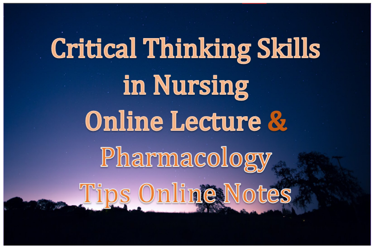 critical thinking skills in nursing education In nursing, critical thinking skills are related to the clinical decision-making process nursing critical thinking skills are a systemic, logical, reasoned approach to the nursing process which results in quality patient care the nurse is open to intellectual reasoning and a systematic approach to problem solving.
