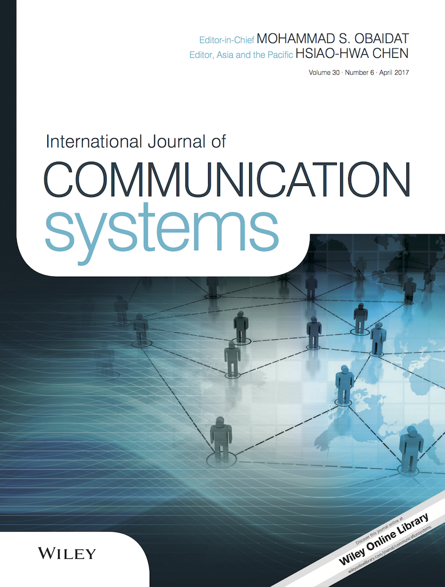 Template for submissions to International Journal of Communication Systems