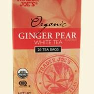 Ginger Pear White Tea from Trader Joe's