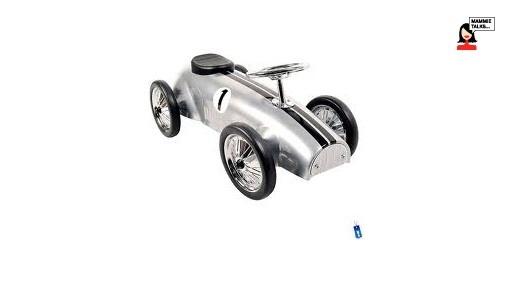 Marquant Retro Zilver Loopauto