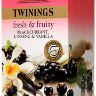 Blackcurrant, Ginseng and Vanilla from Twinings