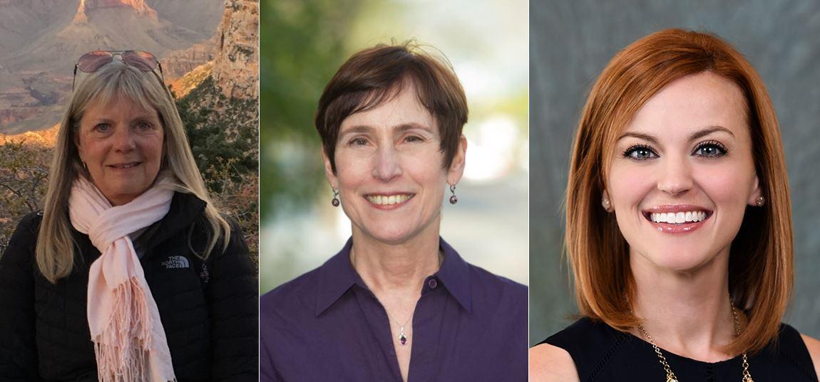 Linda Lefrak, Carolyn Lund, Alex Luton