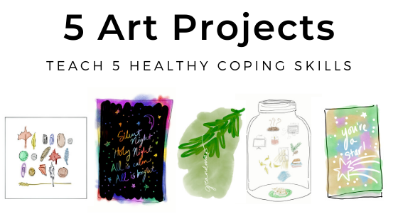 art projects for coping holidays grief