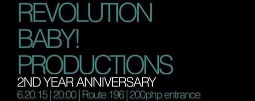 Revolution Baby! 2nd Year Anniversary